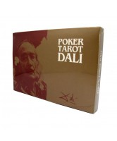 CARTAS POKER TAROT DALI (ESTUCHE - 2 CARTAS JUEGO - PLAYING CARD) (S) 06/17