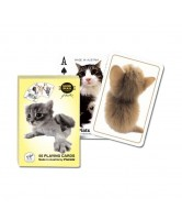CARTAS HANADEKA CATS (55 CARTAS JUEGO - PLAYING CARD) (PIATNIK)