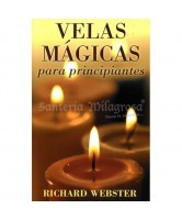 LIBRO VELAS MAGICAS PARA PRINCIPIANTES (RICHARD WEBSTER) (LLW)