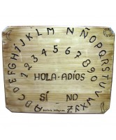 TABLA OUIJA NATURAL OCTOGONAL 40X50CM *