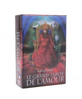TAROT COLECCION LE GRAND TAROT DE L'AMOUR - KARINA HUBERT (80 CARTAS) (FR, EN, DE, IT) (FT)