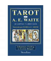TAROT A.E.WAITE  (SET) PAMELA C.SMITH, JHANNES FIEBIG Y EVELIN BÜGER(ARKANO BOOKS)(ALF)