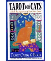 LIBRO TAROT FOR CATS: UNLOCK THE MYSTERIES OF YOUR NINE LIVES! - REGEN DENNIS - (MCM) (EN) 06/17